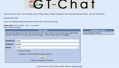 GT-Chat 0.95