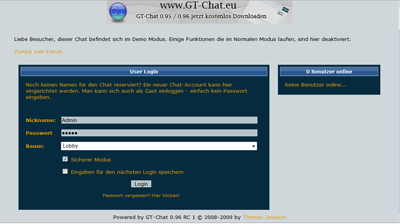GT-Chat 0.96
